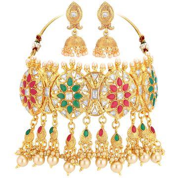 SUKKHI | Sukkhi Bollywood Collection Choker Necklace Set For Women