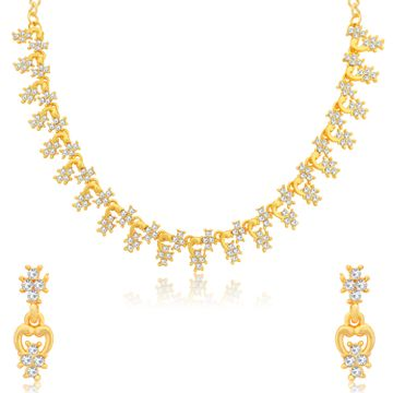 SUKKHI | Sukkhi Lavish Gold Plated Necklace Set for Women