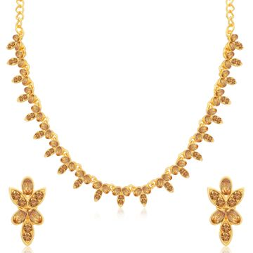 SUKKHI | Sukkhi Awesome LCT Gold Plated Necklace Set for Women