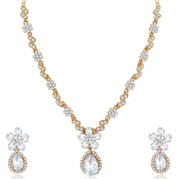 SUKKHI | Sukkhi Stunning Mehandi Gold Plated Necklace Set for Women