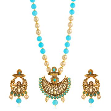 SUKKHI | Sukkhi Excellent Gold Plated Necklace Set for Women
