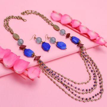 SUKKHI | Sukkhi Fancy Gold Plated Necklace Set For Women