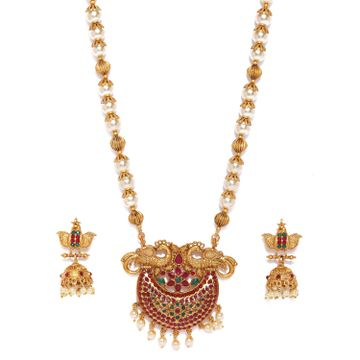 SUKKHI | Sukkhi Glorious Gold Plated Pearl Neckalce Set for Women