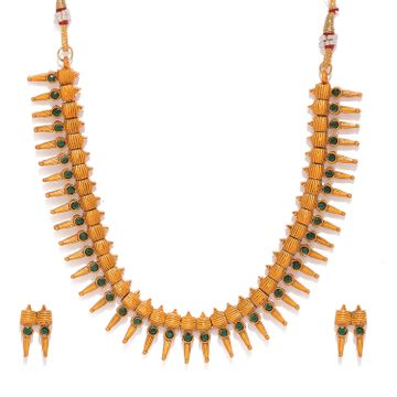 SUKKHI | Sukkhi Artistically Gold Plated Necklace Set for Women