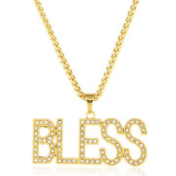 SUKKHI | Sukkhi Marvellous BLESS Cubic Zirconia Gold Plated Pendant for Women