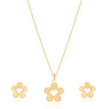 SUKKHI | Sukkhi Dazzling Gold Plated Pendant Set for Women