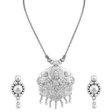 SUKKHI | Sukkhi Ethnic Oxidised God Pendant Set For Women