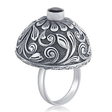 SUKKHI | Sukkhi Ravishing Oxidised Floral Ring For Women