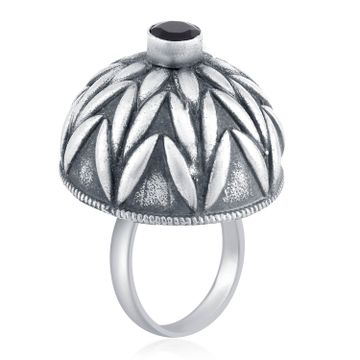 SUKKHI | Sukkhi Pleasing Oxidised Leafy Ring For Women