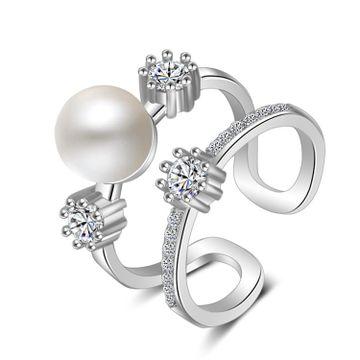 SUKKHI | Sukkhi Gorgeous Austrian Diamond Rhodium Plated Ring for Women
