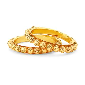 SUKKHI | Sukkhi ShoStopper Stylish Gold Plated Bangle Set For Women