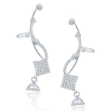 SUKKHI | Sukkhi Creative Rhodium Plated Austrian Diamond Earcuff