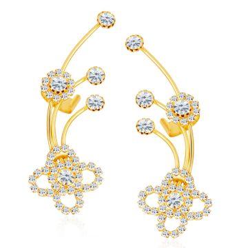 SUKKHI   Sukkhi ShoStopper Elegant Gold Plated Austrian Diamond Earcuff