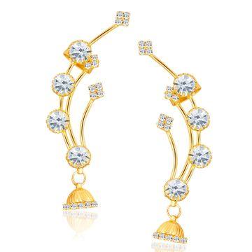 SUKKHI | Sukkhi Lavish Gold Plated Austrian Diamond Earcuff