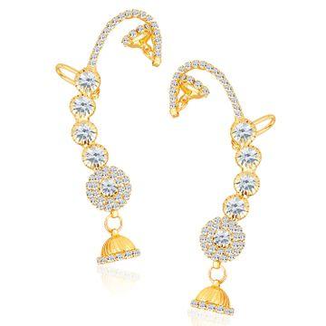 SUKKHI | Sukkhi Attractive Gold Plated Austrian Diamond Earcuff