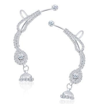 SUKKHI | Sukkhi Trendy Rhodium Plated Austrian Diamond Earcuff