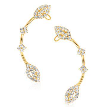 SUKKHI | Sukkhi Marvellous Gold Plated Austrian Diamond Earcuff