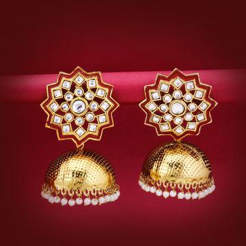 SUKKHI | Sukkhi Equisite Gold Plated Jhumki Earring for Women