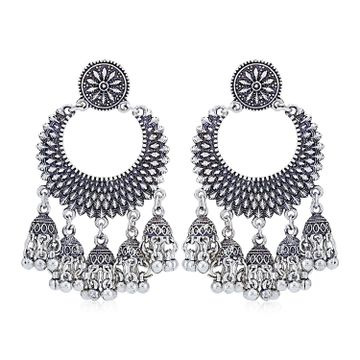 SUKKHI | Sukkhi Trendy Oxidised Chandelier Earring for Women