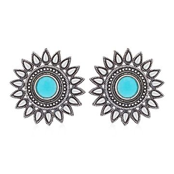 SUKKHI | Sukkhi Incredible Oxidised Stud Earring for Women