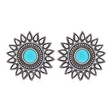 SUKKHI | Sukkhi Incredible Oxidised Stud Earring for Women