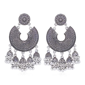 SUKKHI | Sukkhi Pleasing Oxidised Chandelier Earring for Women