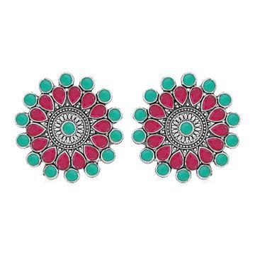 SUKKHI | Sukkhi Exclusive Oxidised Stud Earring for Women