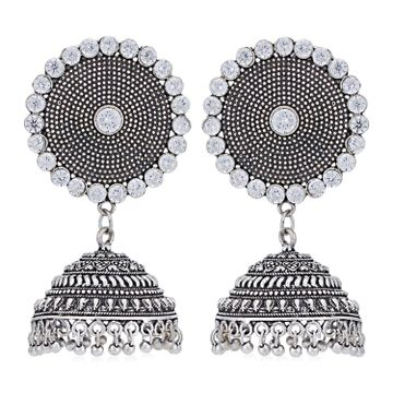 SUKKHI | Sukkhi Alluring Oxidised Jhumki Earring for Women
