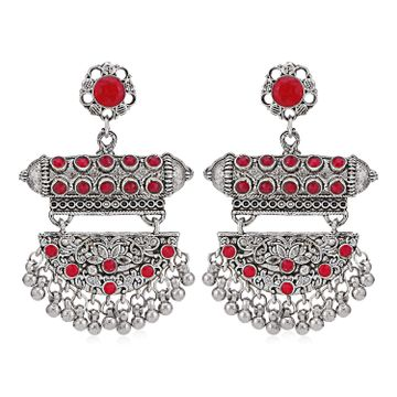 SUKKHI | Sukkhi Fascinating Oxidised Chandelier Earring for Women