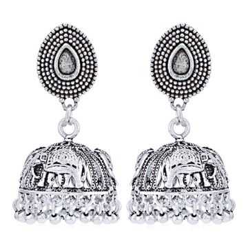 SUKKHI | Sukkhi Trendy Oxidised Jhumki Earring for Women