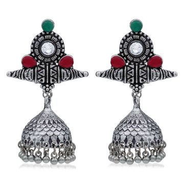SUKKHI | Sukkhi Adorable Oxidised Jhumki Earring For Women