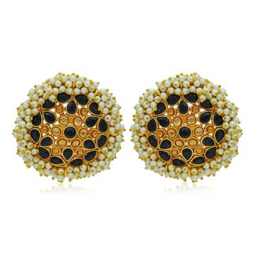 SUKKHI | Sukkhi Classy LCT Gold Plated Pearl Stud Earring For Women