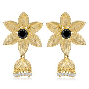SUKKHI | Sukkhi Blossomy Gold Plated Pearl Jhumki Earring For Women