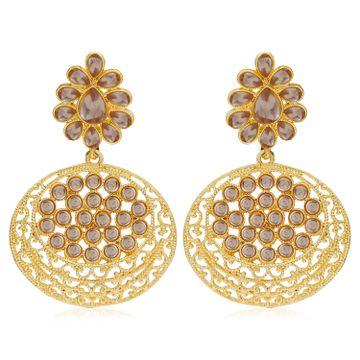 SUKKHI | Sukkhi Stylish Gold Plated Dangle Earring For Women