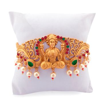 SUKKHI | Sukkhi Exotic Gold Plated Pearl Bajuband for Women