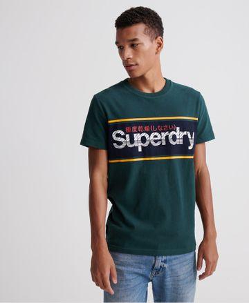 Superdry   CORE LOGO STRIPE TEE