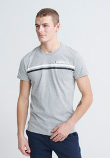 Superdry | CORE LOGO SPORT STRIPE TEE