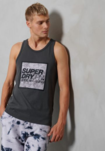 Superdry | JPN TIE DYE BLOCK VEST
