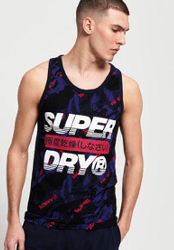 Superdry   Superdry Gardena Navy T-Shirt