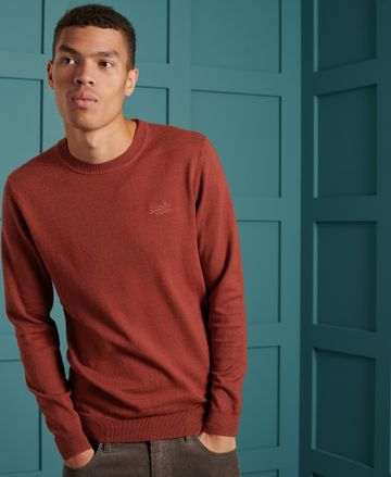 Superdry | Maroon Solid Sweatshirt