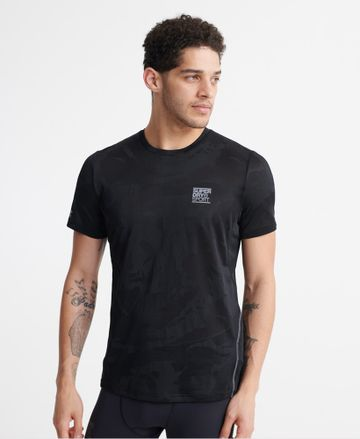 Superdry | TRAINING BREATHABLE CAMO TEE