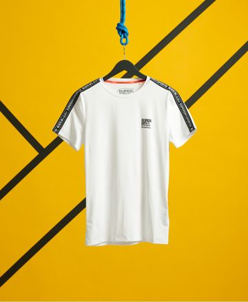 Superdry | TRAINING SLIM FIT TAPED TEE