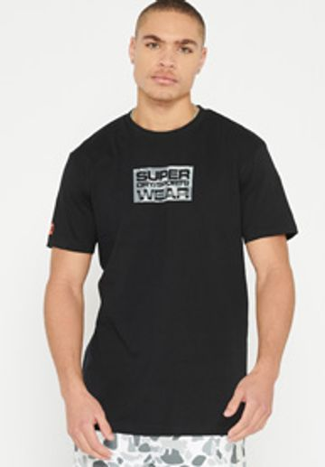Superdry | URBAN CAMO SMALL LOGO TEE