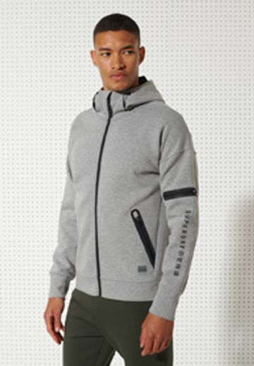 Superdry | TRAINING GYMTECH ZIPHOOD