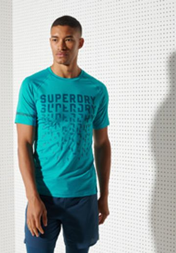 Superdry | RUN GRAPHIC COOLING TEE
