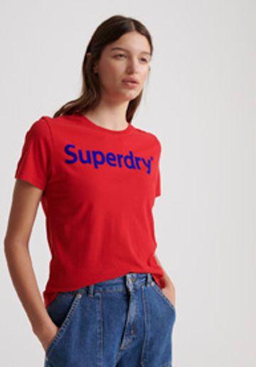 Superdry | REG FLOCK ENTRY TEE