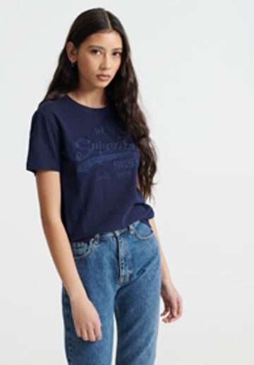 Superdry   VL TONAL EMBROIDERY ENTRY TEE