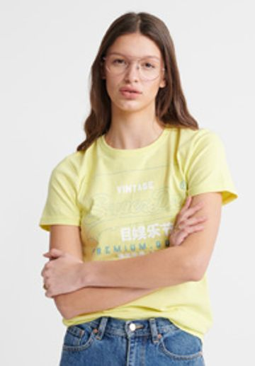 Superdry | PG LABEL OUTLINE ENTRY TEE