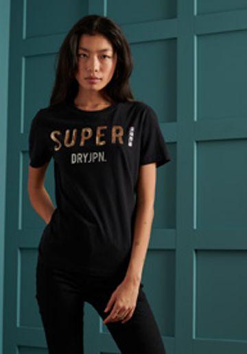 Superdry | SUPER JPN SEQUIN TEE