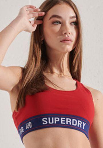 Superdry | SPORTSTYLE ESSENTIAL CROP BRA